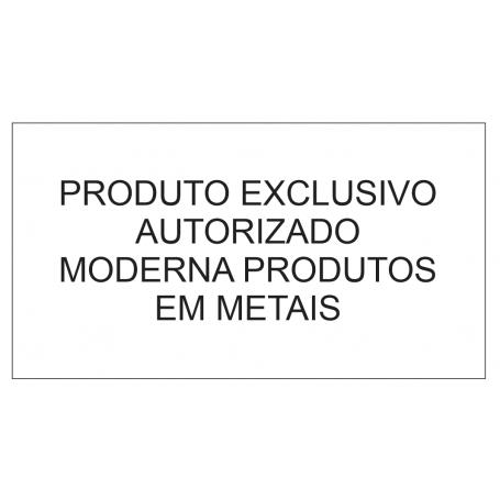 PIA - 2100X650X900MM/H - AÇO INOX 201