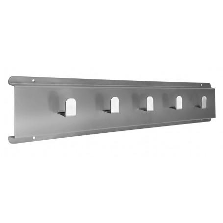 Porta Avental 65x13cm | Aço Inox 201 | PAV-650/201 - Evolução Inox