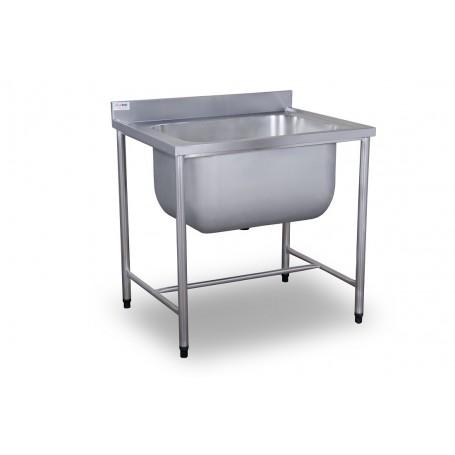Tanque 80x70x85 | Aço Inox 304 | TQ-80/304 - Evolução Inox